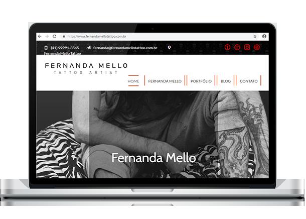 Otimização de Sites - Criação de Sites em Curitiba - Brain In - Ideias Inteligentes - Web Sites - Sistemas Web - Lojas Virtuais - Curitiba e Região Metropolitana Fernanda Mello Tattoo - Torriton