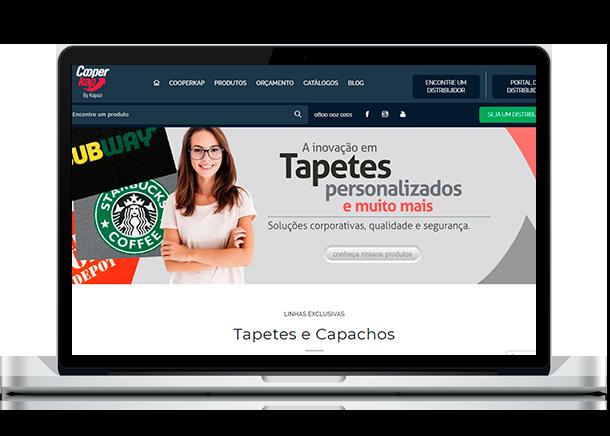 Otimização de Sites - Criação de Sites em Curitiba - Brain In - Ideias Inteligentes - Web Sites - Sistemas Web - Lojas Virtuais - Curitiba e Região Metropolitana Cooperkap