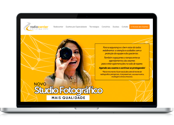 Otimização de Sites - Criação de Sites em Curitiba - Brain In - Ideias Inteligentes - Web Sites - Sistemas Web - Lojas Virtuais - Curitiba e Região Metropolitana Radiocenter Curitiba